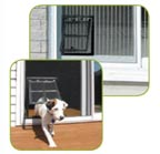 pet door for screen